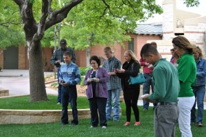 Releasing Butterflies at Amarillo Botanical Garden